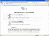 Screenshot of FileUp Professional - ActiveX/DLL  - V5.3.1