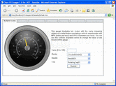 Screenshot of Chart FX Gauges - .NET - V1.0.2840.15654