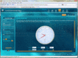 Captura de tela de Syncfusion Essential Gauge for Silverlight