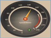 Screenshot of Syncfusion Essential Gauge - WPF - 2012