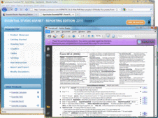 Screenshot of Syncfusion Essential PDF - ASP.NET - 2012