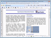 Screenshot of Syncfusion Essential PDF - .NET Component - 2012