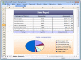 Bildschirmabzug von Syncfusion Essential XlsIO - .NET Component - 2012