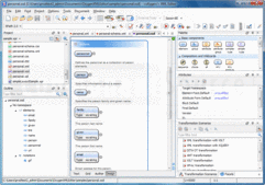 Screenshot of oXygen XML Editor - Academic - V16