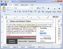 Screenshot of TX Spell .NET for WPF - WPF - 4.0
