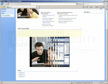 Screenshot of Virto Image Slideshow Web Part - Add-In - V1.1