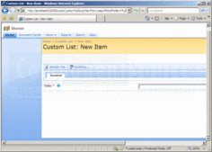 Screenshot of Virto Custom List Form Extender - Add-In - V3.0