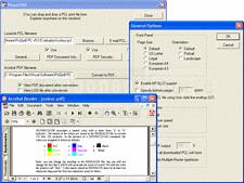 Screenshot ofPcl2pdf - for UNIX, Linux, OpenVMS - V6.9