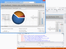 Screenshot of Visifire - Silverlight - v5.1.1