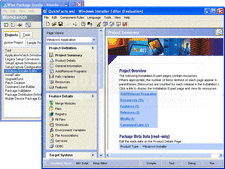Screenshot of Wise Package Studio - Professional - V8.0
