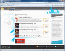 Screenshot of Xceed Ultimate ListBox for Silverlight - .NET - V1.4