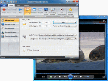 Record video with liteCam and liteRecorder Bundle.