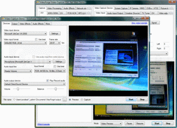 Capture video using Video Capture SDK .Net.