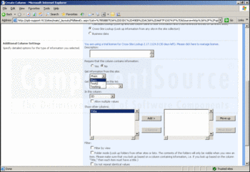 Look-up information using SharePoint Lookup Pack.