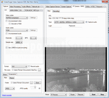 Capturing video using Video Capture SDK ActiveX.