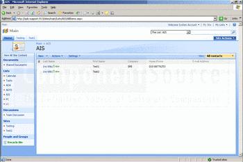 SharePoint AD Information Sync full screenshot