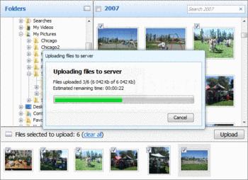 Uploading multiple image files with Aurigma Image Uploader.