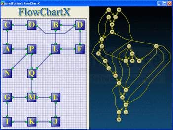 Flowcharts created using FlowChartX Professional.
