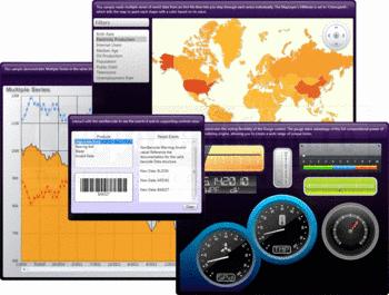 User interfaces built using NetAdvantage for WPF Data Visualization.