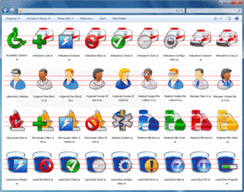 Example icons included in the Medical Bonus Pack.