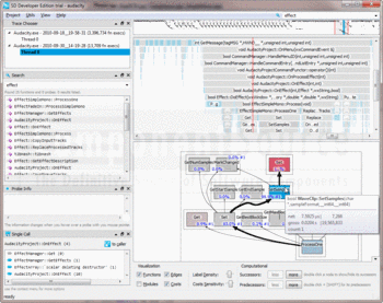 Tracing code execution with Software Diagnostics Developer Edition.