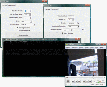 Video encoding using DiscretePhoton H.264 Encoder.