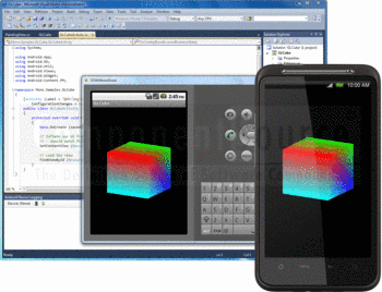 Creating Android applications in Visual Studio using Mono for Android.