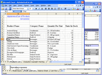 Creating spreadsheets using Aspose.Cells for .NET.