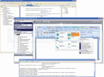 Role selection in Infragistics TestAdvantage for Windows Forms.